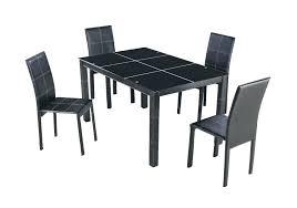 ensemble table et chaise de cuisine pas cher chaise noir pas cher chaise pas lot 2 chaise velour noir pas cher
