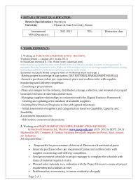 Resume For Purchase Assistant Procurement Resumes Purchasing Resumes Eliolera Com