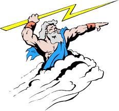 the lightning bolt is one of zeus u0027s symbols thinglink