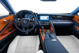 lexus lf fc interior sema 2017 2018 lexus lc special editions inspired by black