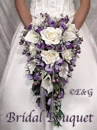 silk bridal bouquets bridal bouquet package silk flowers cascade bridesmaid bouquets
