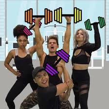 Teh Fitne the fitness marshall dancer flo rida popsugar fitness