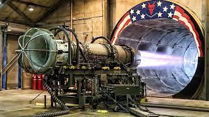 Turbine Engine Mechanic F 16 Jet Engine Test At Full Afterburner In The Hush House Jet
