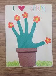 spring arts and crafts crafts pinterest spring art craft
