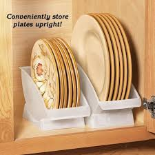 plate organizer for cabinet plate cradles take plate storage to the max organizers stand plates