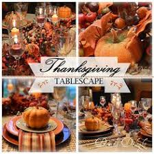 rustic thanksgiving tablescape pine cones white