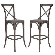 cafe bar stools french cafe bar stools weathered finish
