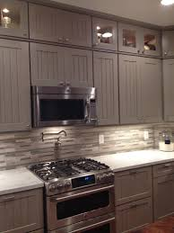 Kitchens With Grey Cabinets Kitchen Before After Weathered Pieces Kitchen Remodel With