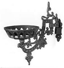 Cast Iron Wall Sconce Oil Lamp Parts