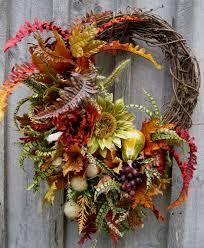 fall wreaths autumn wreath fall floral designer wreaths