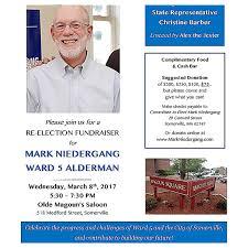march 8th fundraiser for mark neidergang ward 5 alderman the