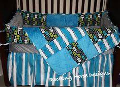 Rock N Roll Crib Bedding Soho Blue And Brown Rock Band Baby Crib Nursery Bedding Set 13 Pcs