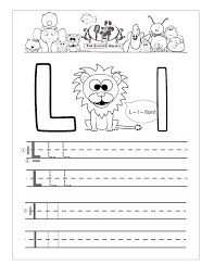 Worksheets For Kindergarten Printable Letter L Worksheets For Preschool Kindergarten Printable