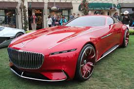 pink luxury cars vision mercedes maybach 6 car explained by design vp