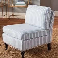 slipper chair slipcovers armless chair slipcover wayfair
