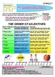 awesome adjectives 4th grade science printables and free printables