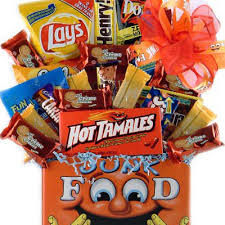 Junk Food Basket How To Stop Relatives From Bringing Your Kids Junk Food Doctor Yum