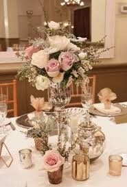 our big fat indian wedding glass centerpieces mercury glass and