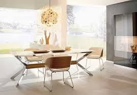 Contemporary Upholstered Dining Room Chairs Contemporary Dining Room Set Added White Upholstered Chairs High