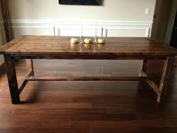 making a dining room table diy dining room table dining room table plans diy dining room table