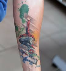 skateboard tattoo designs pictures to pin on pinterest tattooskid