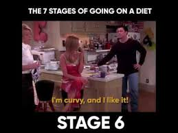 Dieting Meme - 7 stages of dieting friends style youtube