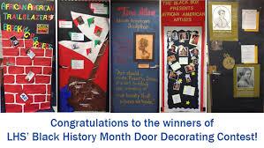 Black History Month door decorating contest – Lafayette High School
