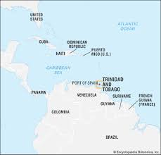 where is and tobago located on the world map and tobago culture map flag britannica