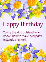 delightful happy birthday card for friends birthday u0026 greeting