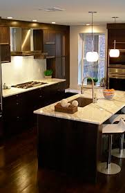 what color wood floors go with espresso cabinets 30 projects with kitchen cabinets home