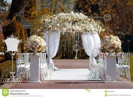 wedding arches on the best wedding in the garden wedding arch in the garden stock photo