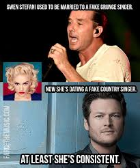 Blake Meme - farce the music another mean blake shelton meme by reginald spears