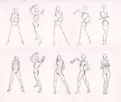 sketches 28 woman standing practice by azizlaswiftwind on deviantart