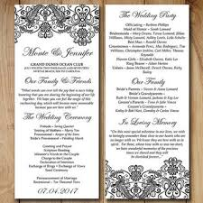 vintage wedding programs best lace wedding programs products on wanelo