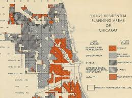 Chicago Map Art by Check Out These Vintage Chicago Plan Commission Maps Curbed Chicago