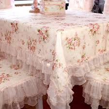 ruffle tablecloth