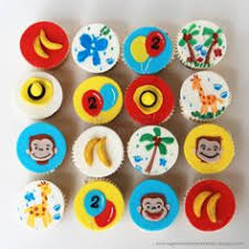 curious george cupcakes curious george cupcake toppers curious george cupcakes and