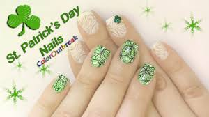 stamping nail art designs st patrick u0027s day born pretty plate bp