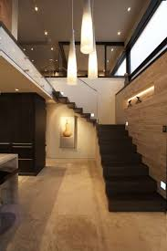modern minimalist living room staircase design interior design