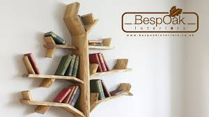 accessories and furniture branch bookshelf designs featuring tree