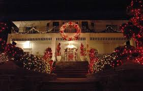 christmas decorations ideas for outside of house ne wall