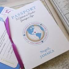 wedding invitations jamaica 39 best passport destination wedding invitations images on