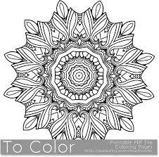 101 mandalas images coloring books coloring