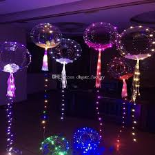 led rope lights air balloon flasher lighting wave 18 inch