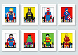 Superman Decoration Ideas by Wall Art Design Ideas Stunning Shocking Lego Wall Art Captain