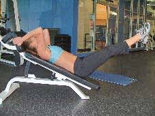 Bench Abs Workout Pictures Of Ab Exercises