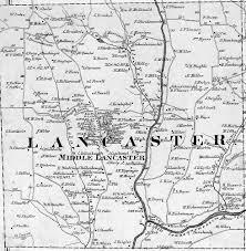 map of lancaster county pa butler county pennsylvania maps 1874