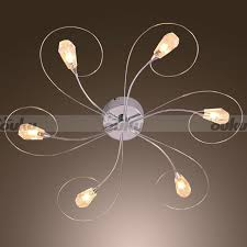 Unique Ceiling Lighting Collection In Unique Ceiling Light Fixtures Led Integrated
