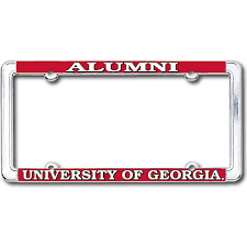 uga alumni sticker of alumni license plate frame of