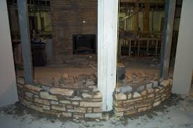creating an old world cultured stone fireplace without here arafen
